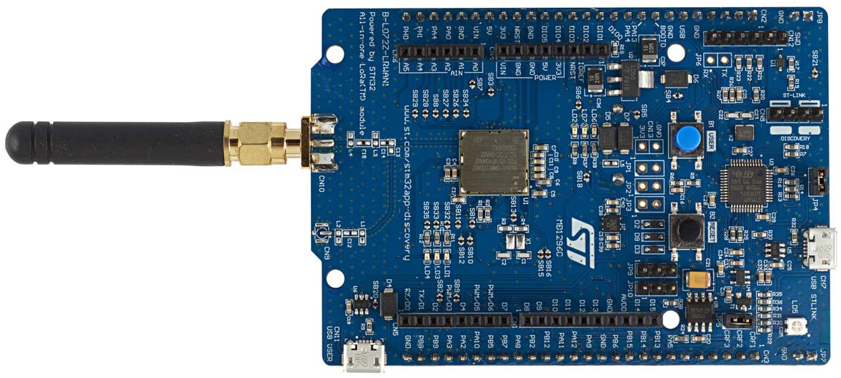 STMicro Introduces STM32 LoRaWAN Discovery Board & I-NUCLEO