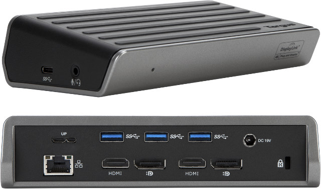 Targus Universal Displaylink Docking Stations Support Up