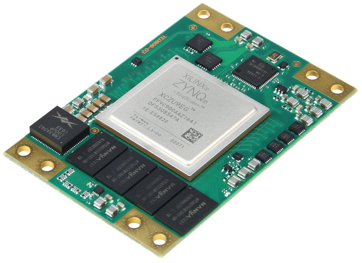 Trenz Electronic TE0808 UltraSOM+ is a Xilinx Zynq