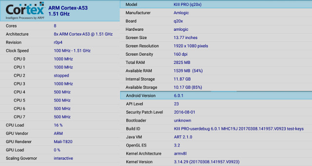 Mecool KIII Pro Hybrid STB Review – Part 2: Android Firmware