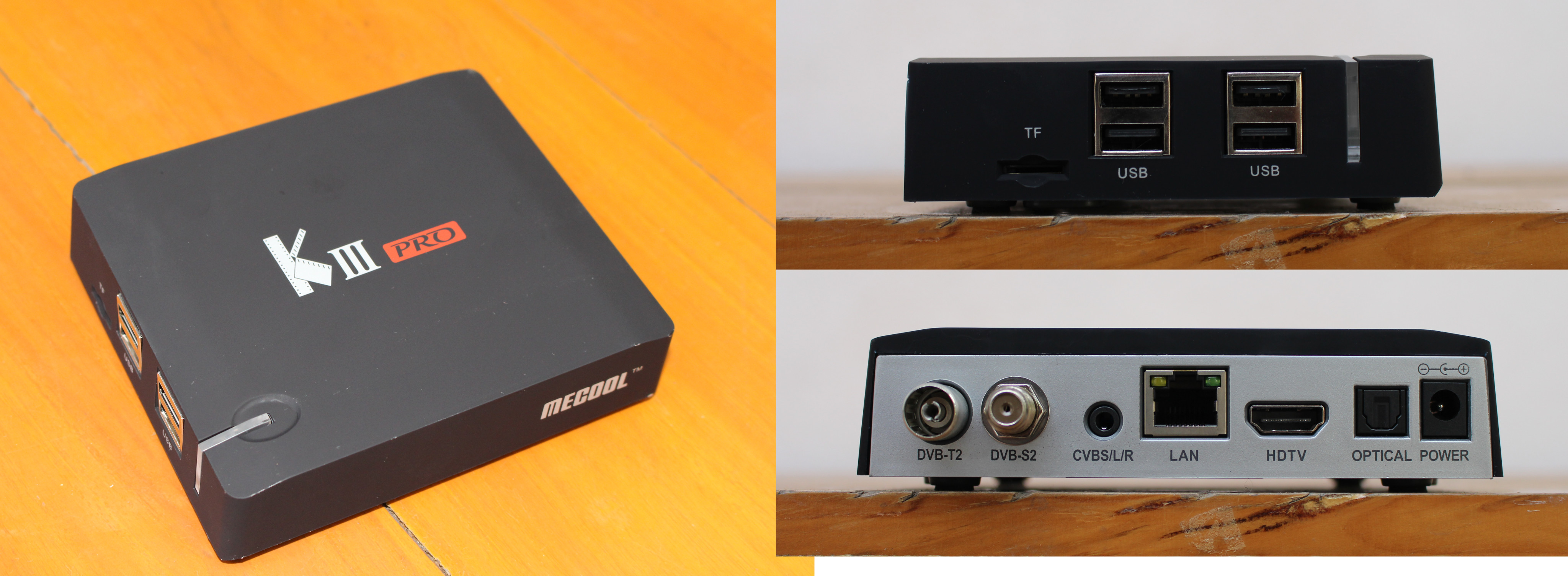 Mecool KIII Pro Hybrid Android STB Review - Part 1: Specs, Unboxing
