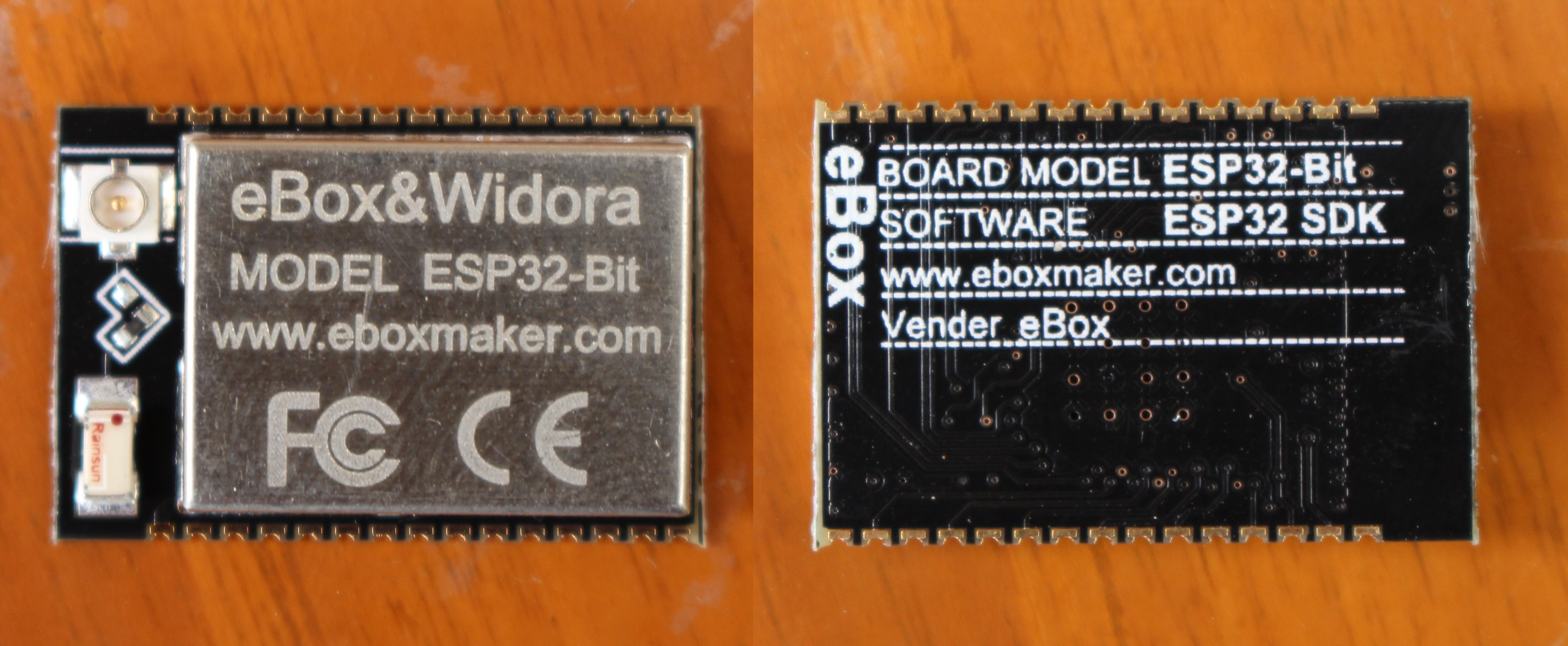 Getting Started with ESP32-Bit Module and ESP32-T Development Board