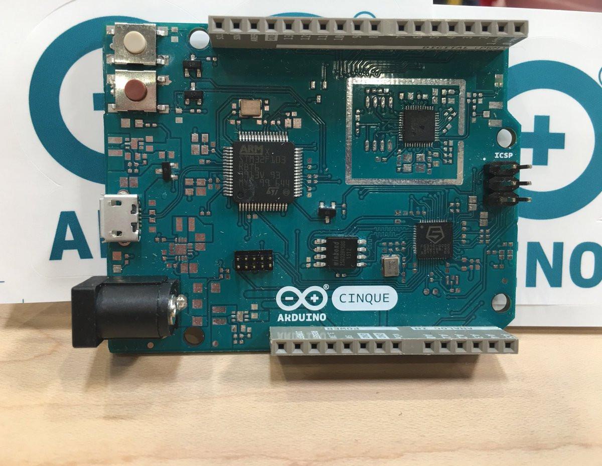 Arduino cinque combines sifive risc v freedom e mcu