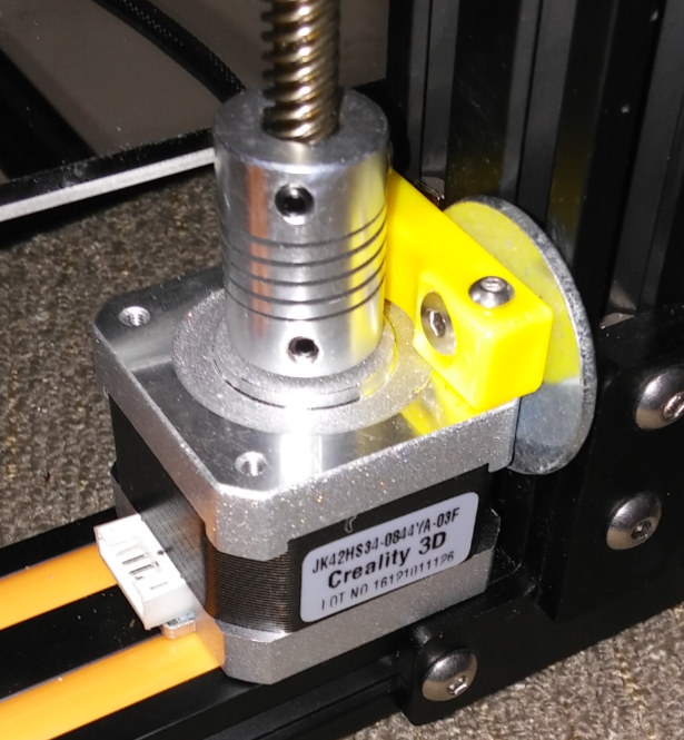 Cr Z Axis Washer on 3d Printer Stepper Motors For