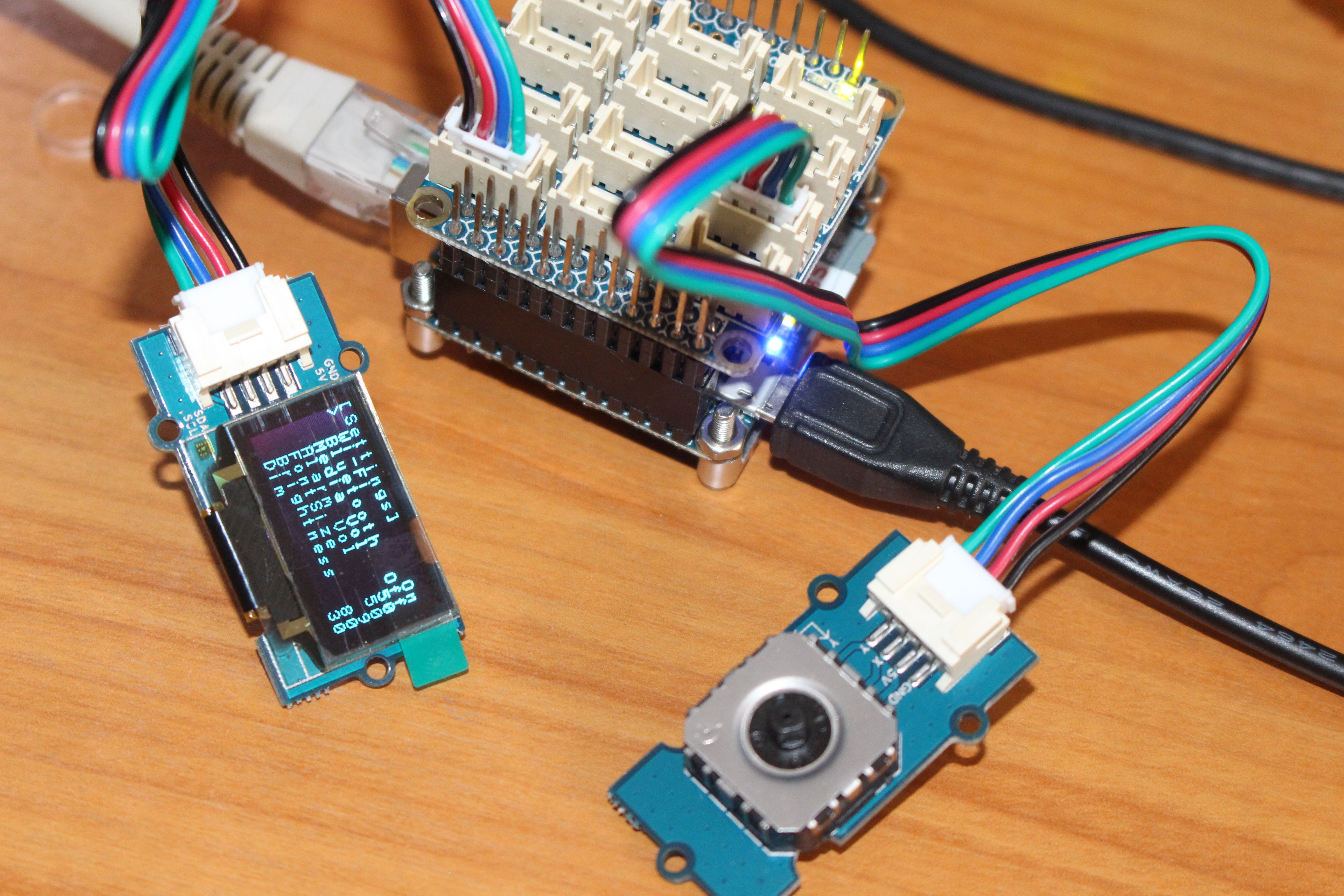 Using Gpios On Nanopi Neo 2 Board With Bakebit Starter Kit Wiringpi Serial Gpio Click To Enlarge