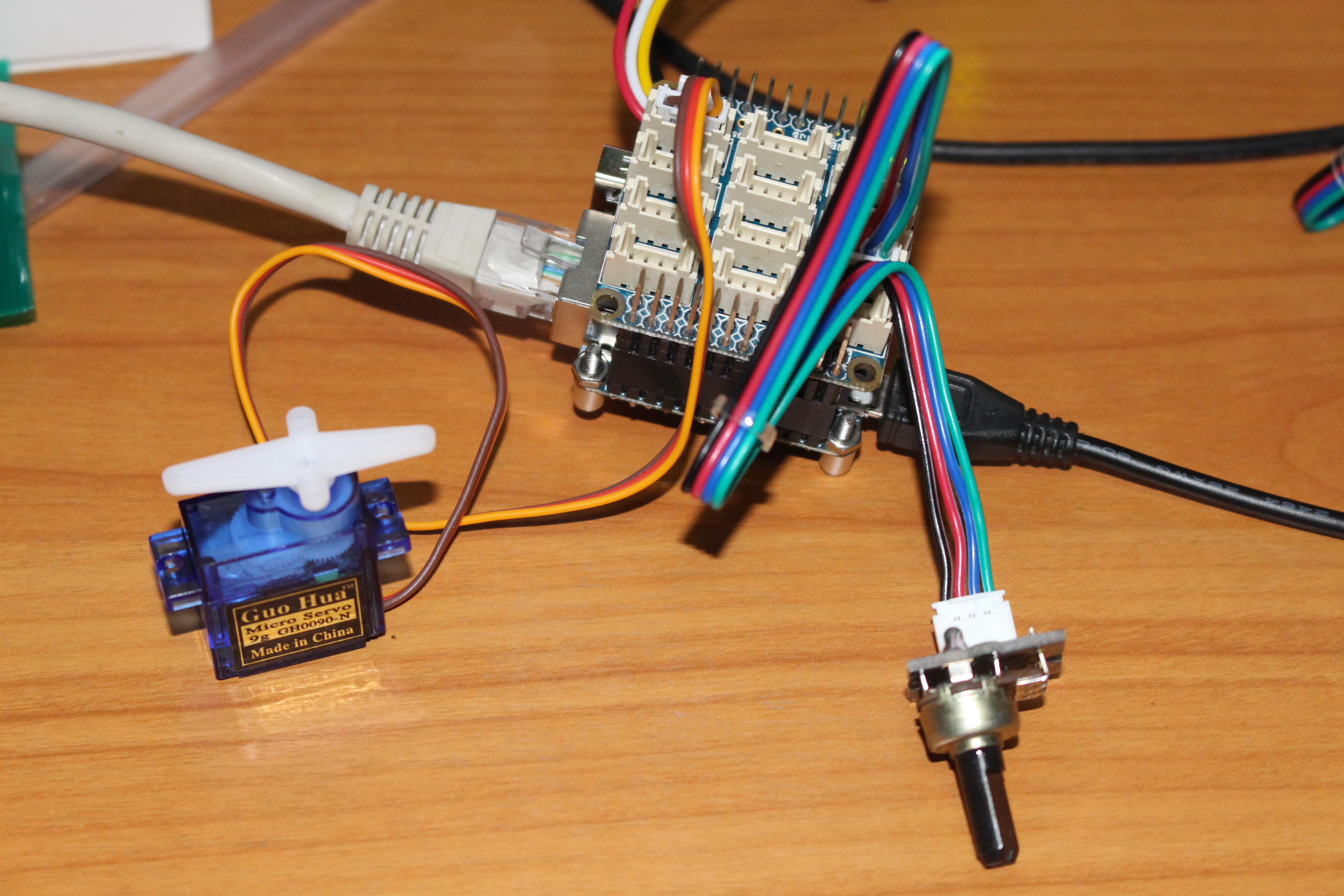 Using Gpios On Nanopi Neo 2 Board With Bakebit Starter Kit Wiringpi Python Module Click To Enlarge