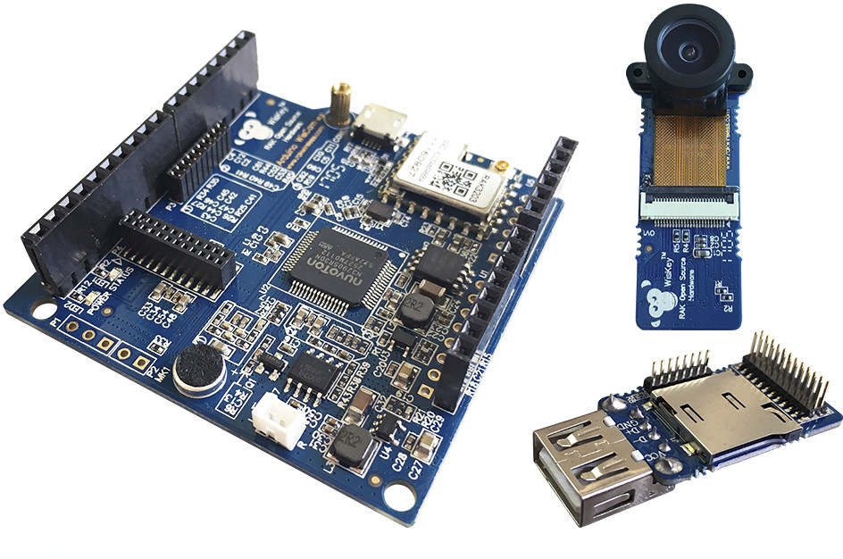 Rak wiscam is a arduino compatible wifi camera linux