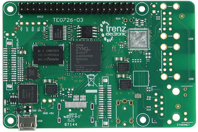 Meet Zynqberry, a Xilinx Zynq FPGA Board with Raspberry Pi 2/3 Form