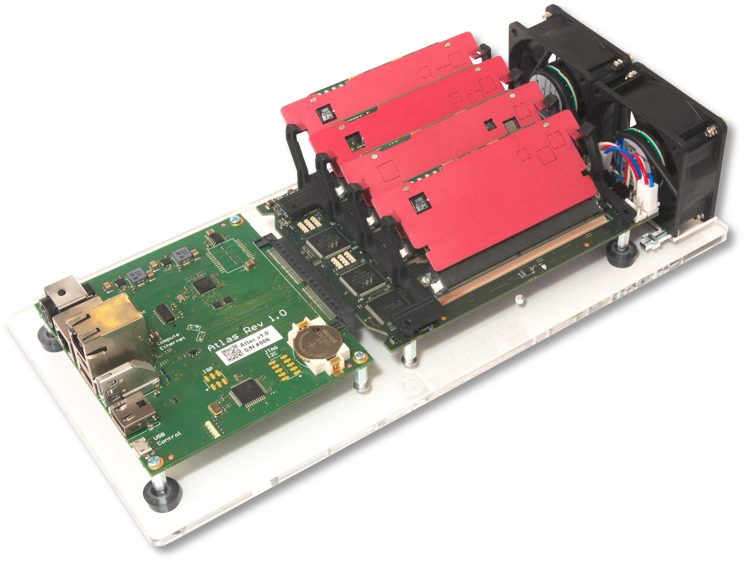 Christmann RECS|Box Atlas Quad Apalis Microserver Evaluation Kit