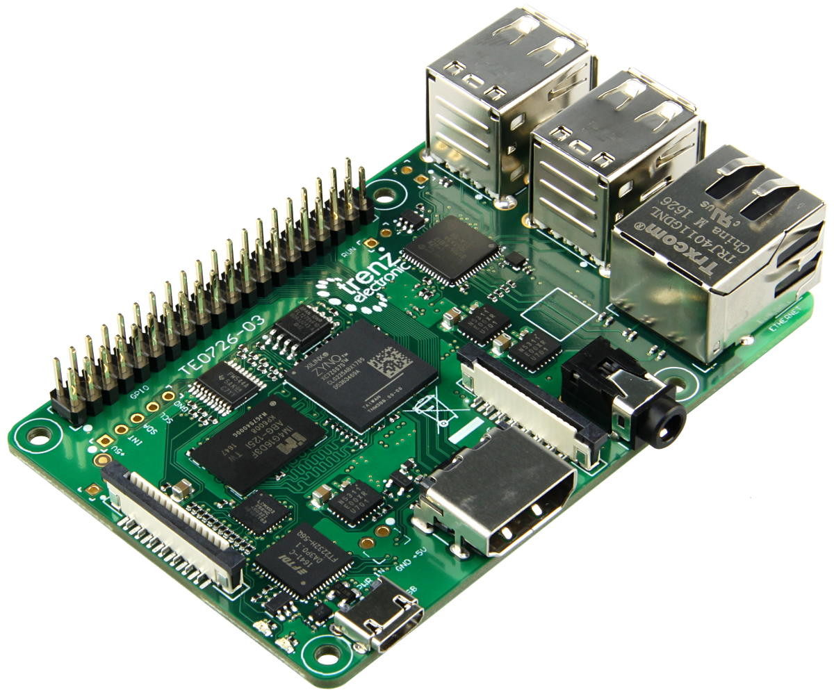 Meet Zynqberry A Xilinx Zynq Fpga Board With Raspberry Pi