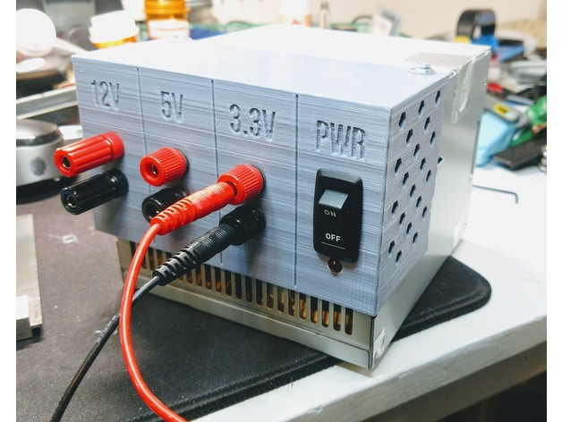 ATX Power Supply Convertion to Bench Power Supply 3d printing page 2  at n-0.co