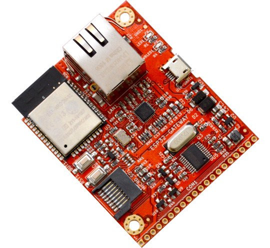 Olimex Launches 22 Euros ESP32-GATEWAY Board with Ethernet, WiFi and