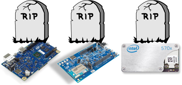 Intel Issues End-of-Life Notices for Galileo / Galileo 2