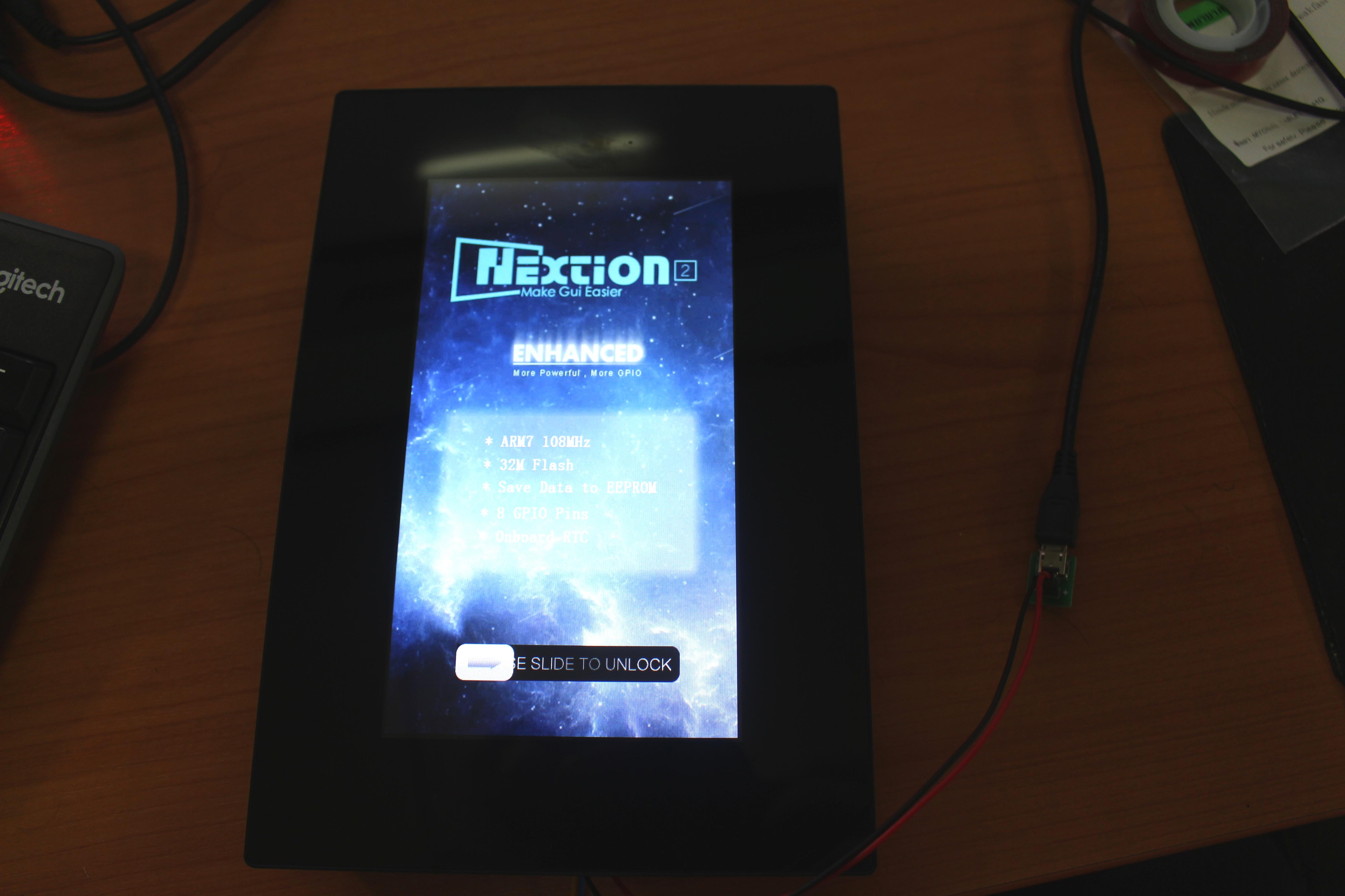 Mini Review of Nextion Enhanced NX8048K070 7