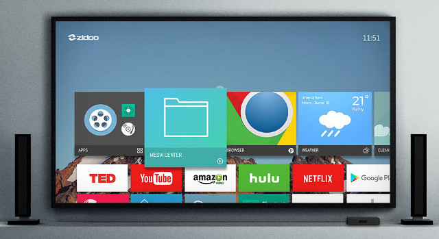 Rock64 Android Tv