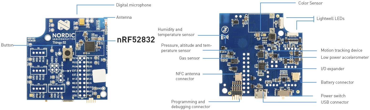Nordic Thingy:52 Bluetooth 5 IoT Sensor Development Kit