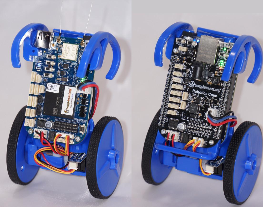 EduMIP Self-Balancing Robot Kit Based on BeagleBone Blue is