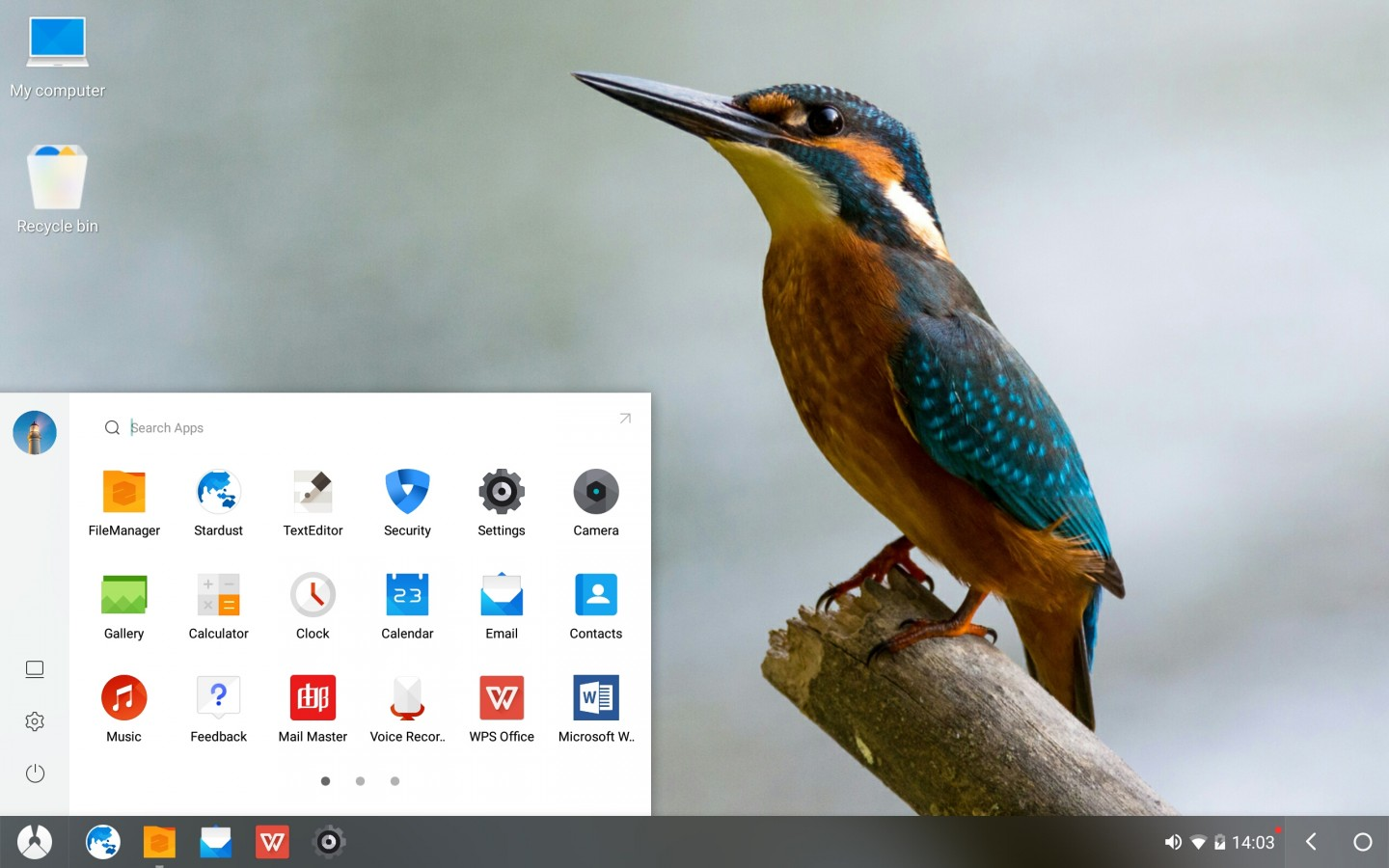 Phoenix OS 2 1 Android 7 1 based Desktop OS Released for 32