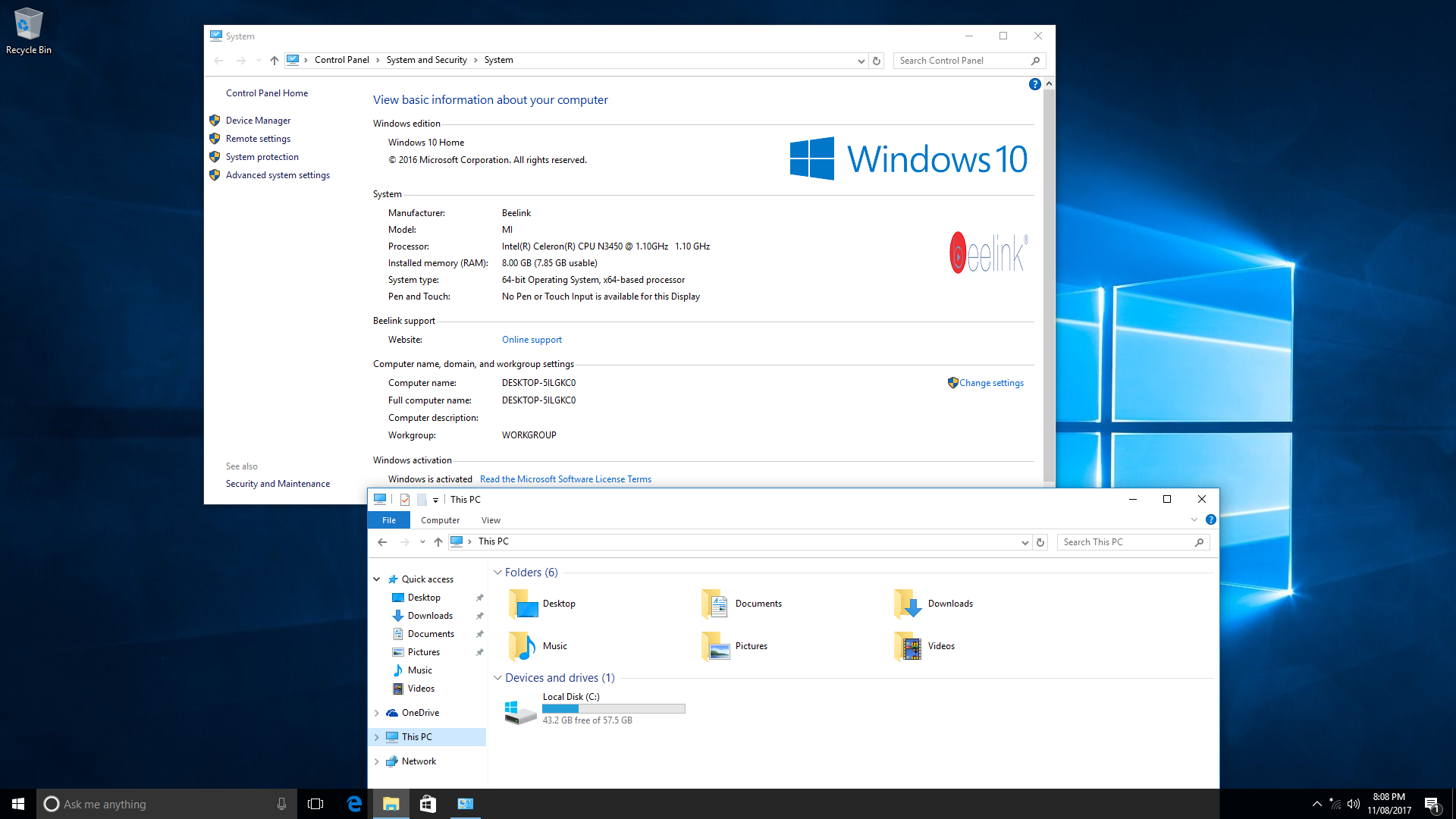 Beelink AP34 Ultimate Fanless mini PC Review with Windows 10 and Ubuntu