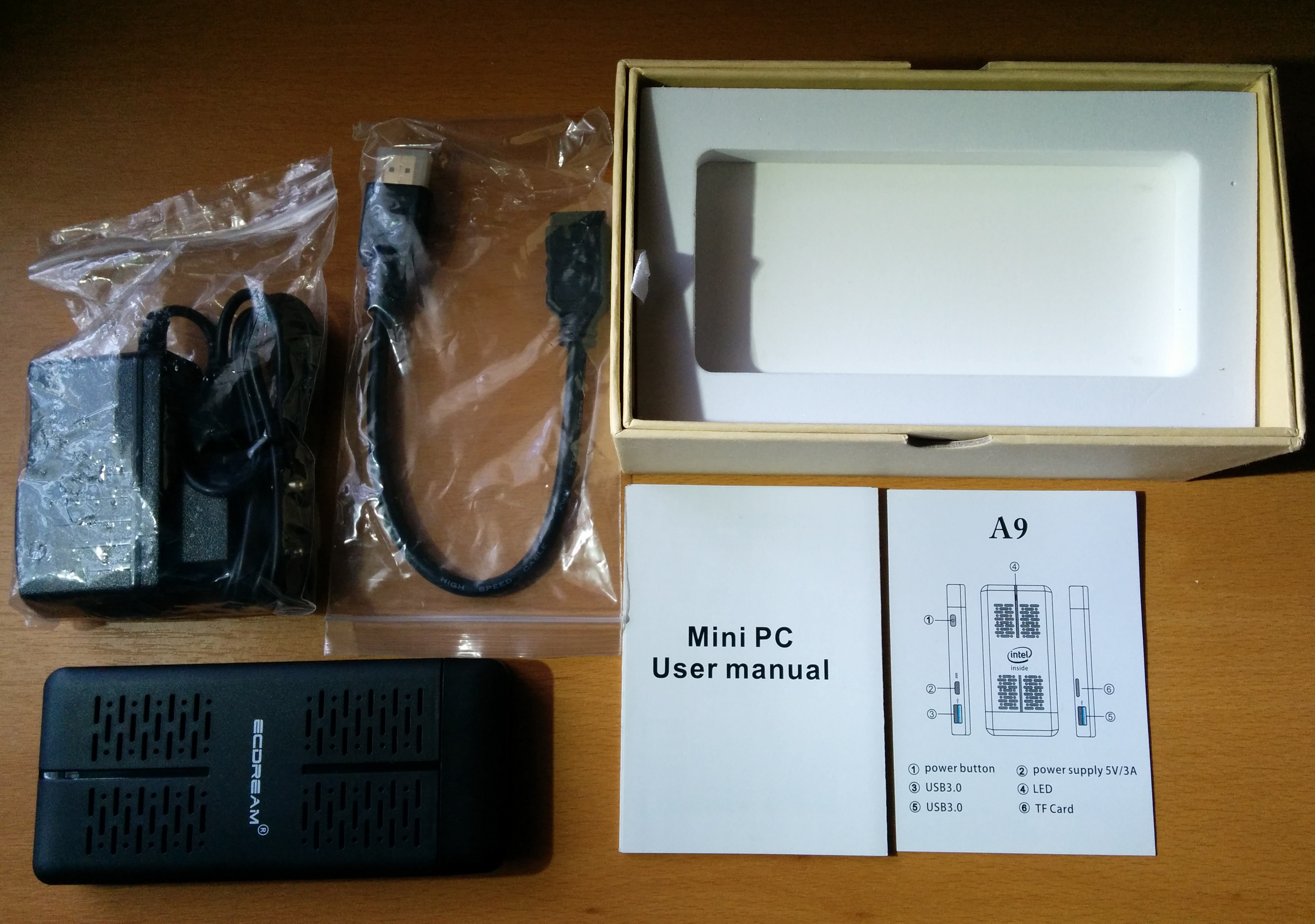 ECDREAM A9 Apollo Lake HDMI