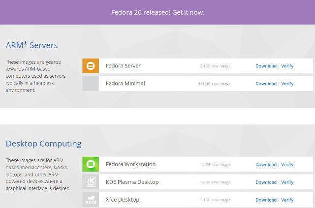 Fedora 26 Supports Single