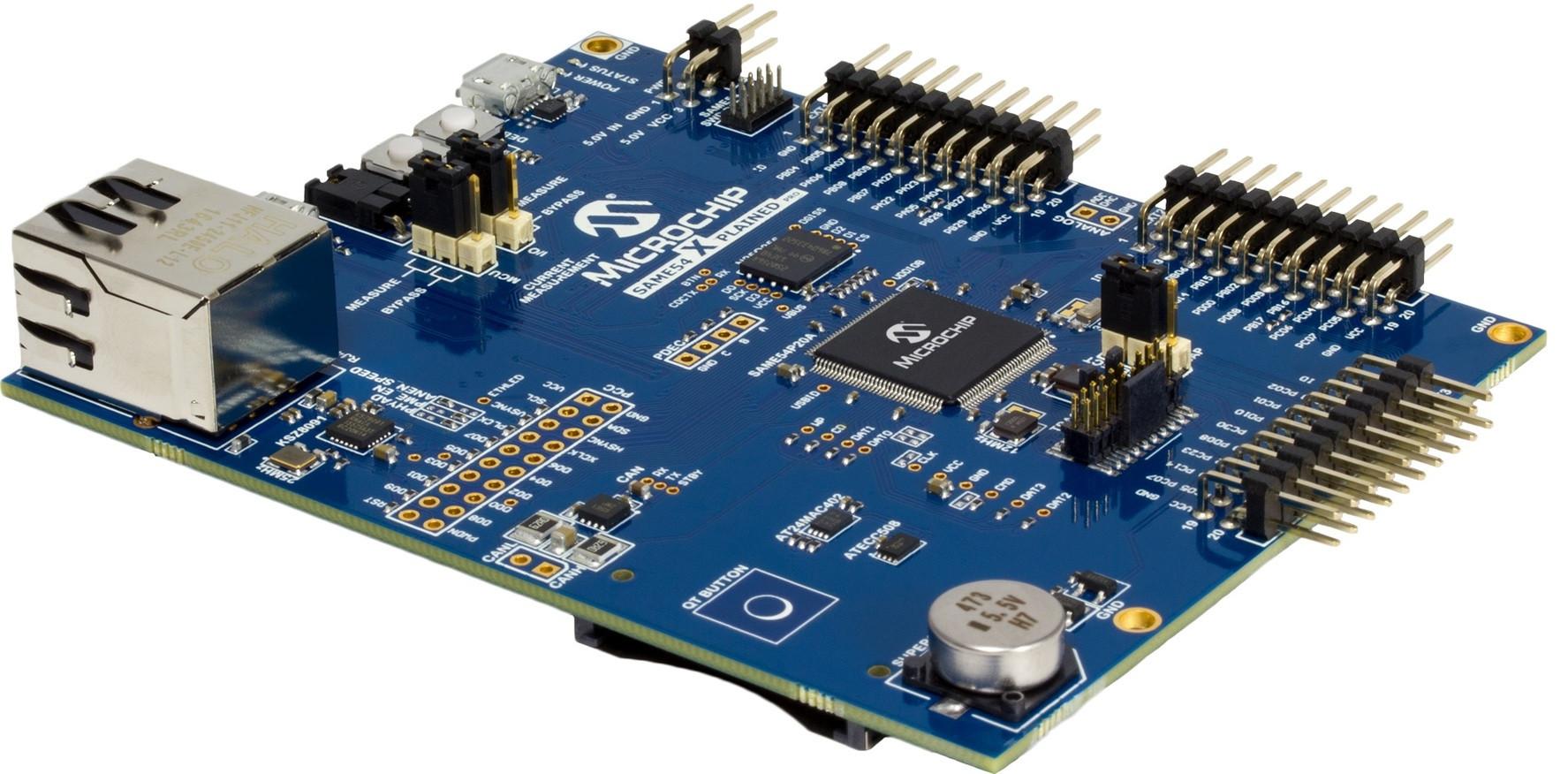 Microchip SAM D5x and SAM E5x ARM Cortex-M4 Micro
