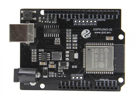 ESPDUINO-32 & Wemos D1 R32 ESP32 Boards Support (Most) Arduino UNO