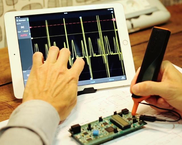 IkaScope WiFi Oscilloscope Probe Works with Windows, Linux, Mac OS X