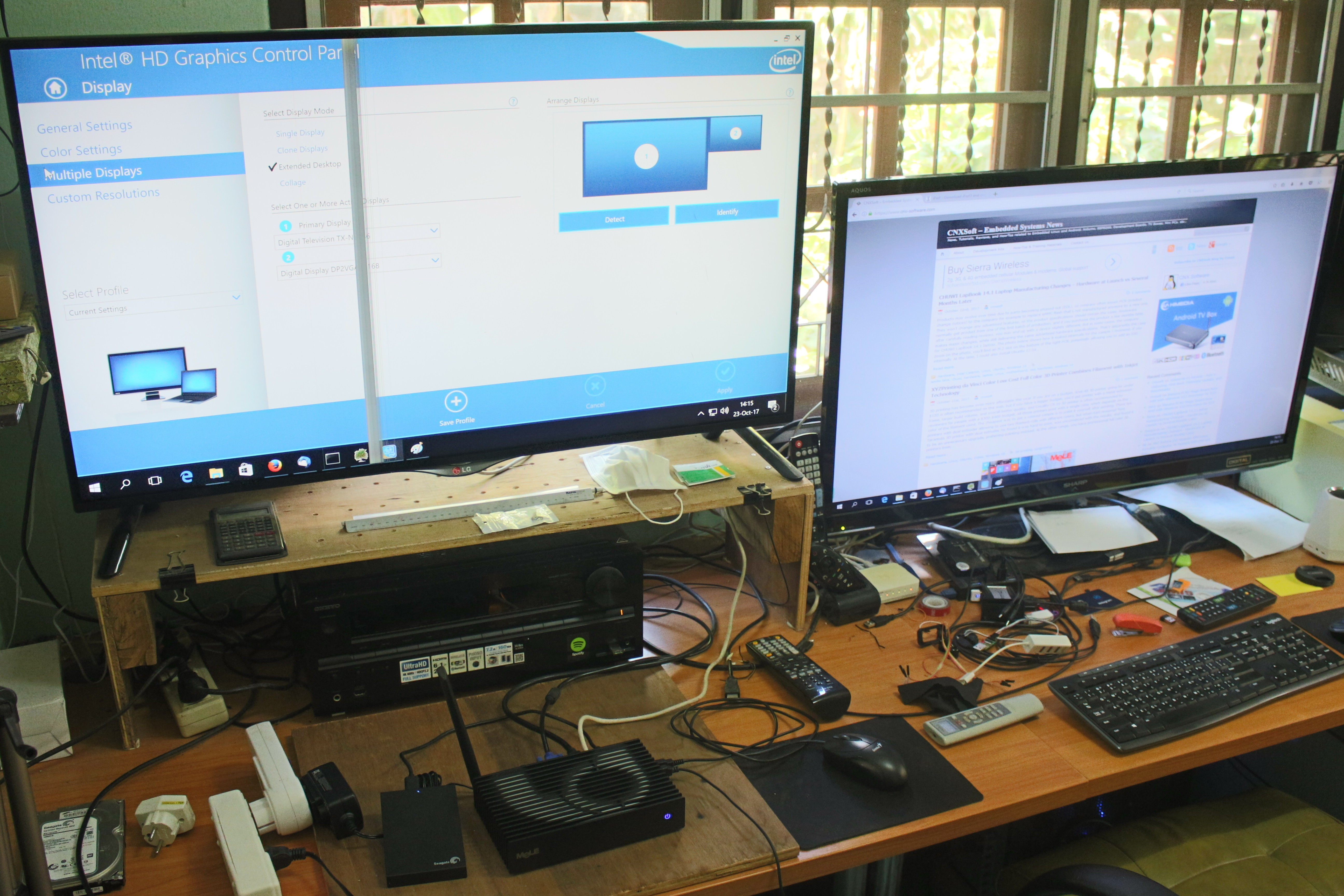 MeLE PCG35 Apo Mini PC Review - Part 2: Windows 10 Home