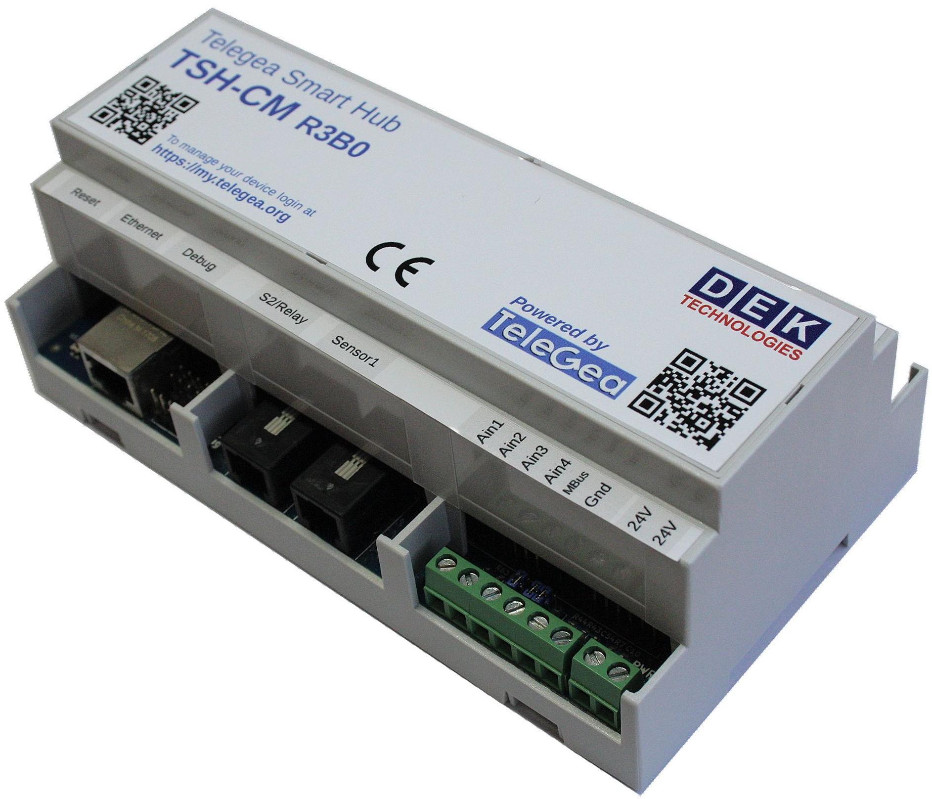 Telegea Smart Hub Din Rail Iot Gateway Is Powered By Raspberry Pi Cm3 Module