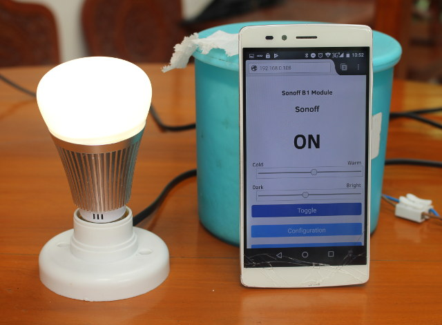 Review of Sonoff B1 Smart RGB Light Bulb - Part 2: Sonoff