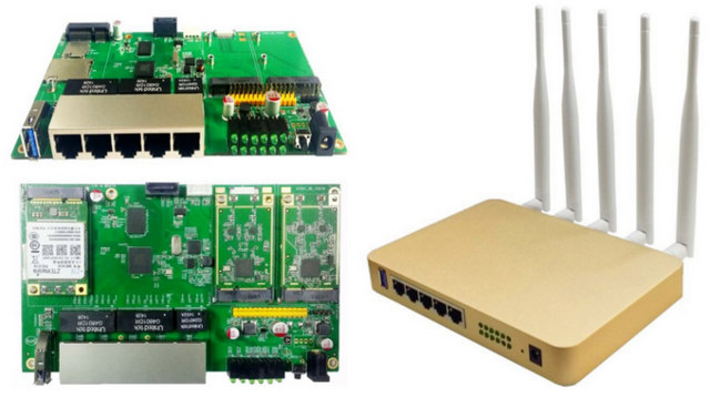 UniElec U7621-06 MediaTek MT7621 Router Supports OpenWrt