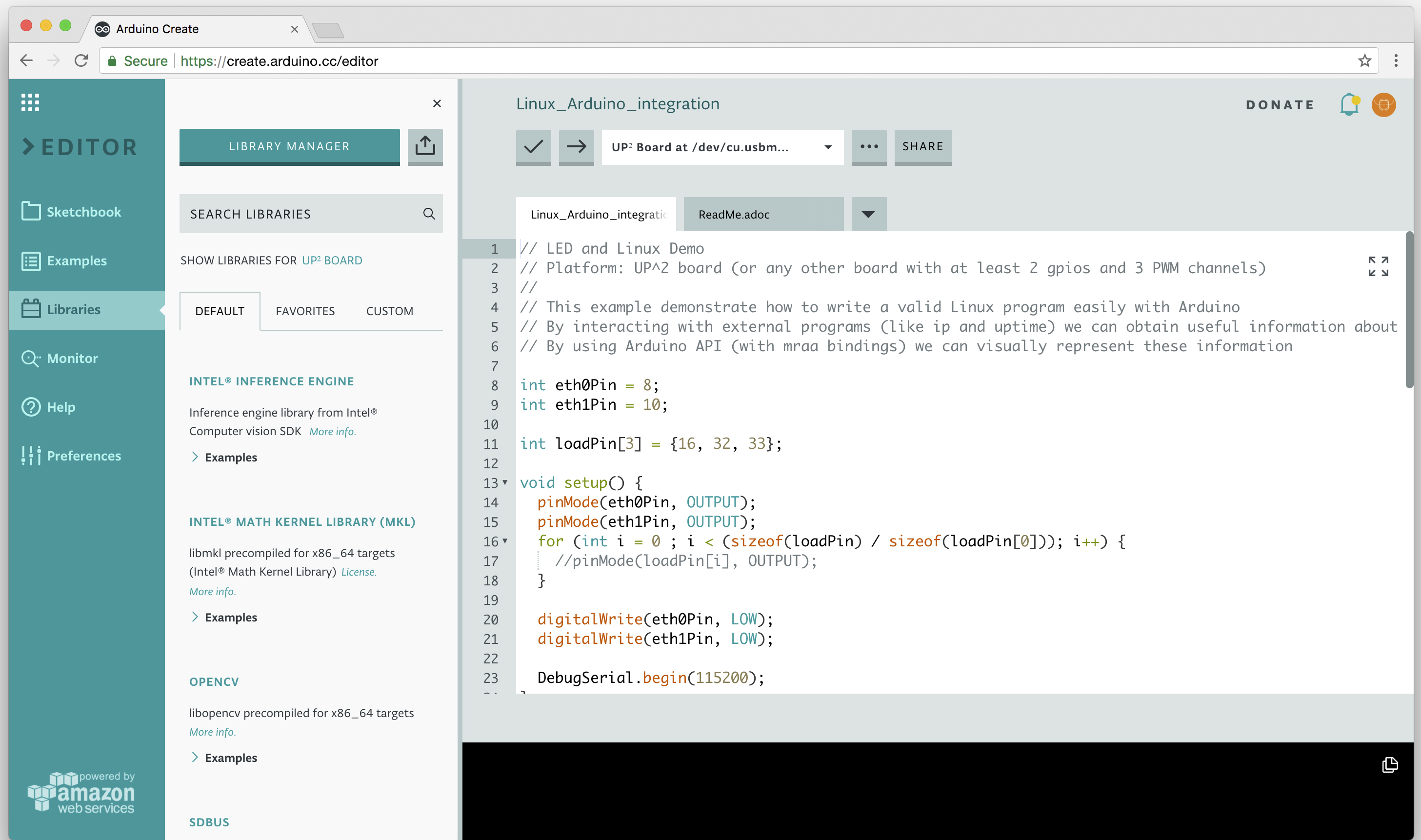 Arduino Create Adds Support for Linux Development Boards