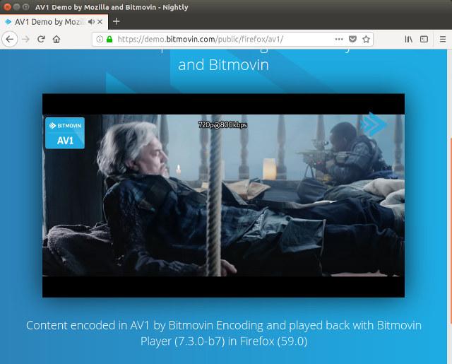 Mozilla Adds HTML5 AV1 Video Support to Firefox 59 Nightly