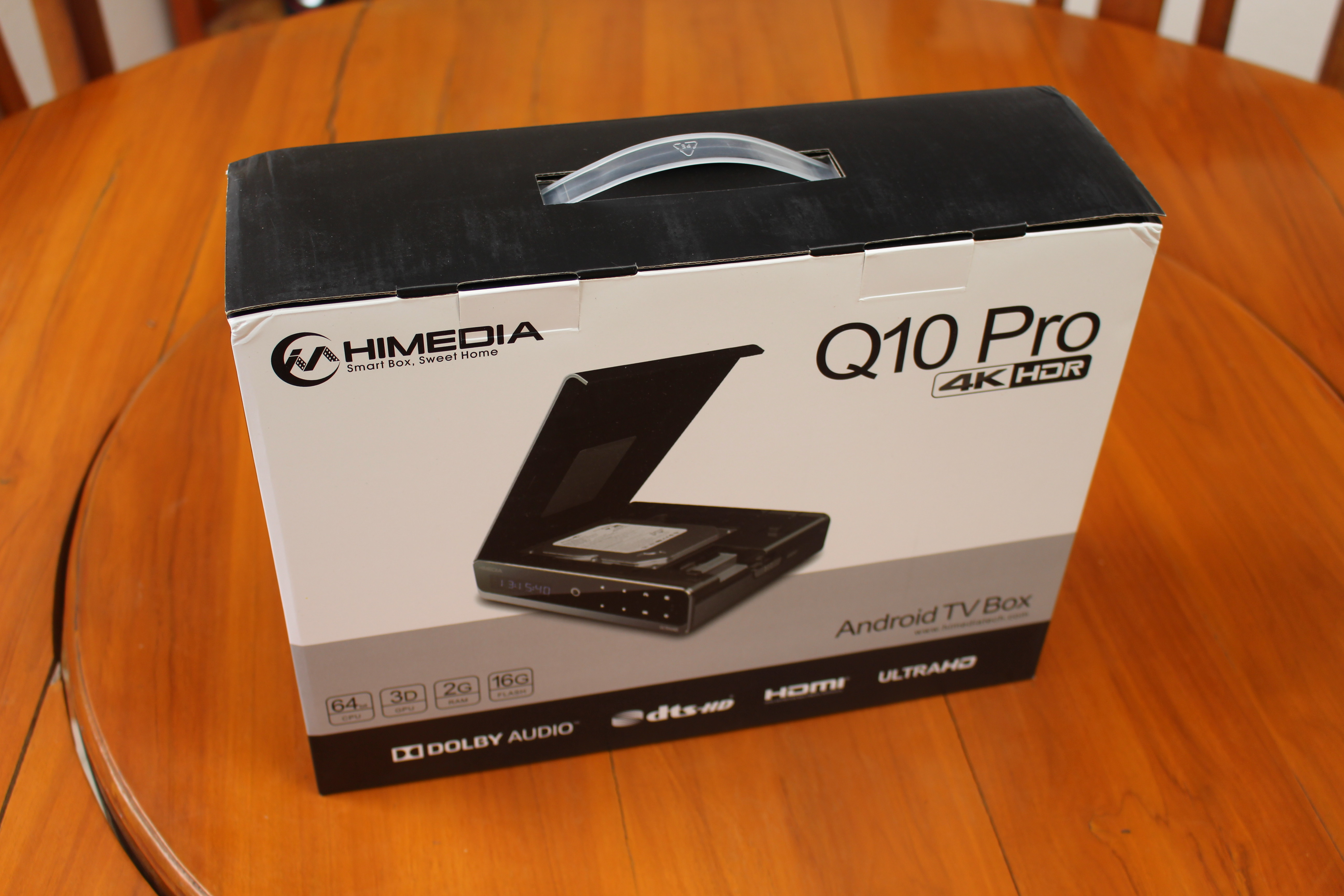 HiMedia Q10 Pro TV Box Review - Part 1: Unboxing and 3 5