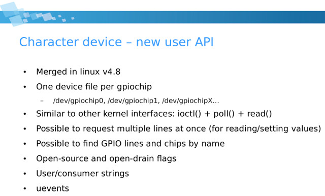 Learn More About Linux's New GPIO User Space Subsystem