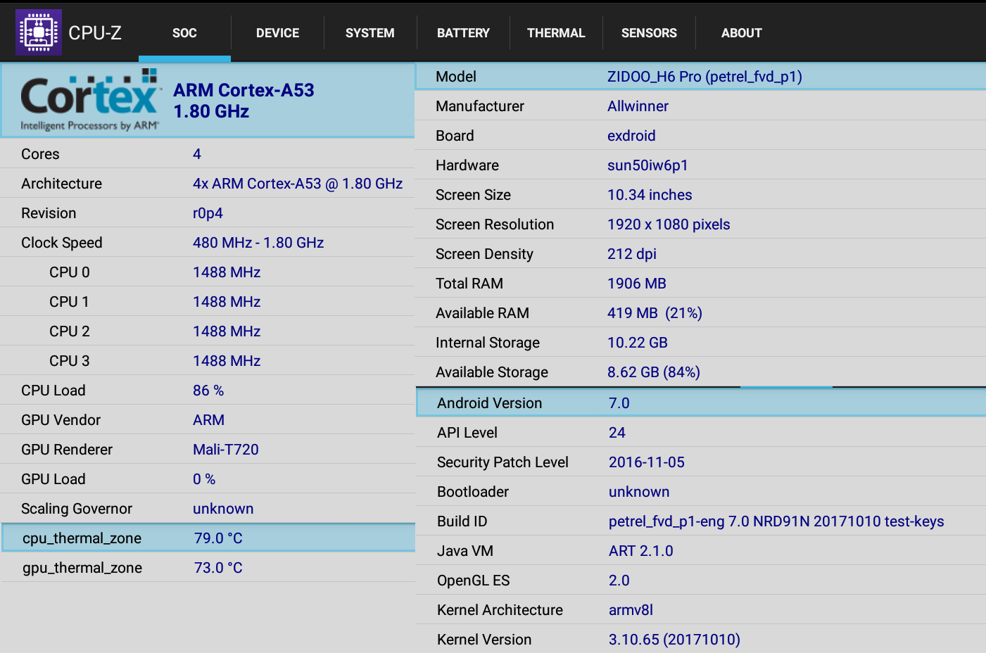 Zidoo H6 Pro (Allwinner H6) TV Box Review - Part 2: Android 7 0 Firmware