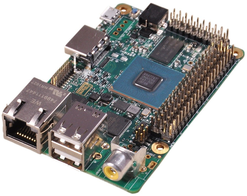 Compact Renesas Rz G1c Based Arm Linux Single Board Computer Exposes 100 Expansion Pins