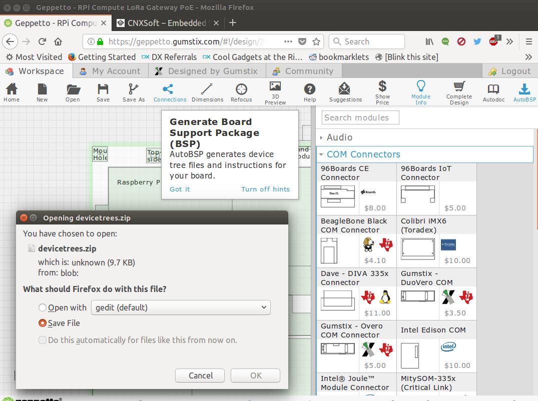 Gumstix AutoBSP Automatically Generates Device Tree Files