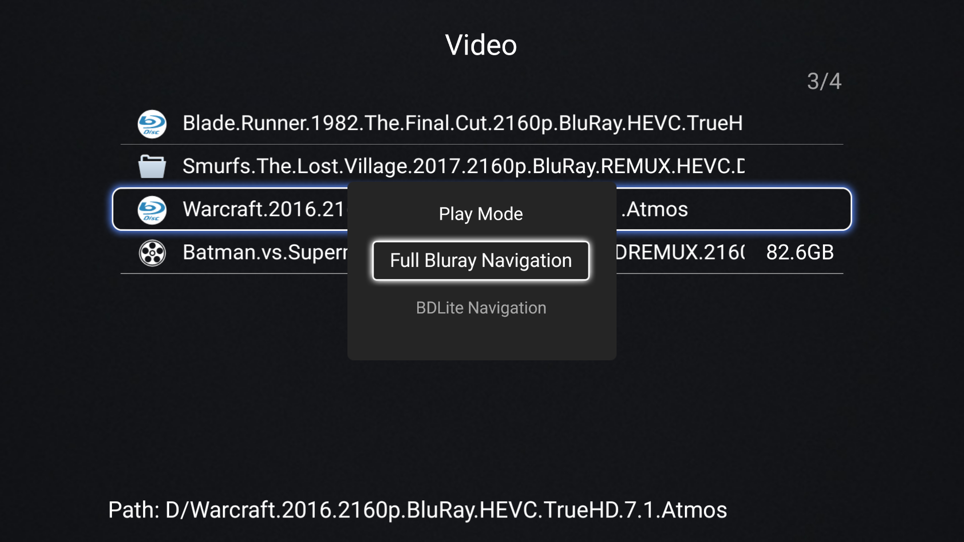 HiMedia Q10 Pro 4K TV Box Review - Part 2: Full Blu-ray Navigation