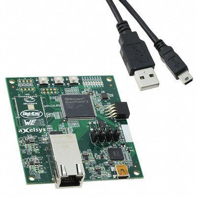 $34 SmartFusion2 Maker Board Arm Cortex-M3 + FPGA Board Supports