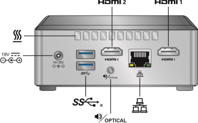 Intel Gemini Lake NUC7CJY/NUC7PJY Kits and Mini PC