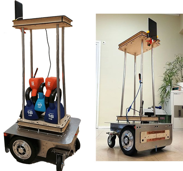Pulurobot is a Low Cost Open Source Raspberry Pi based Load Carrying
