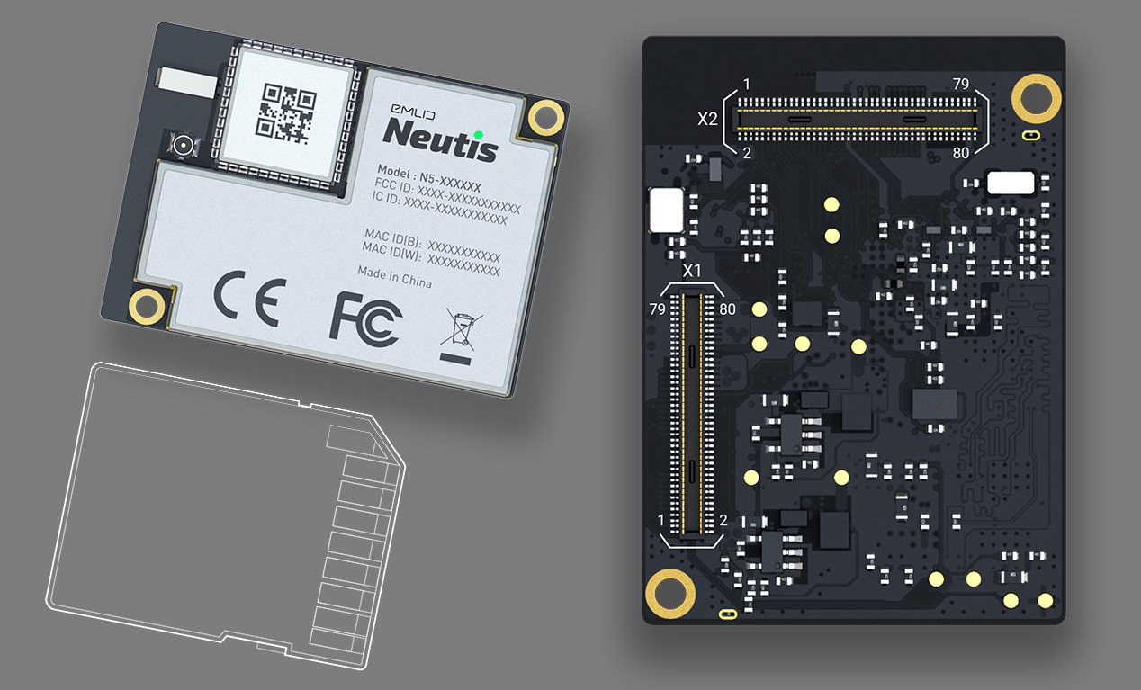 Neutis N5 Is A 49 Allwinner H5 Som With Wifi And Bluetooth