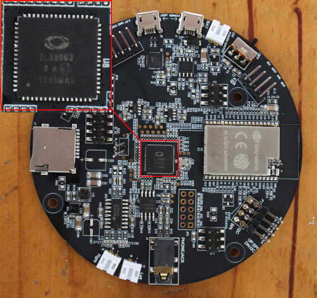 MicroSemi ZL38063 Audio Processor is Designed for Microphone