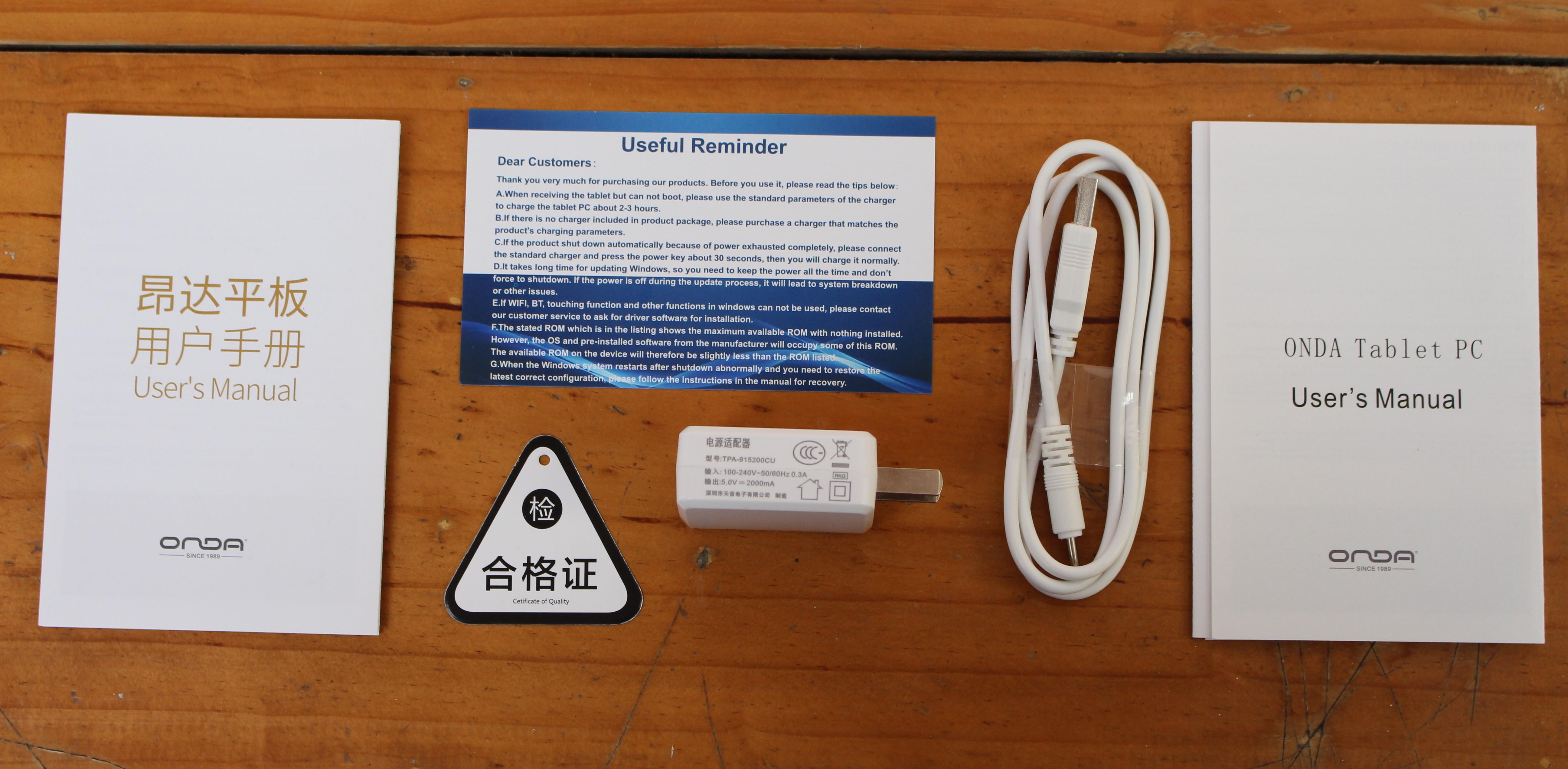 Onda V18 Pro (Allwinner A63) 2K Tablet Review - Part 1: Unboxing