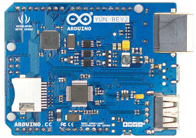 Euros arduino yún rev unveiled with a lower profile