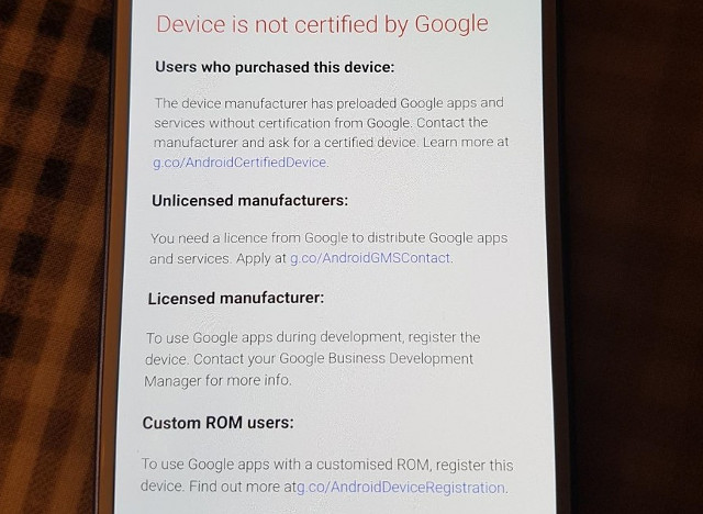Google Has Made it Harder to Load Google Apps on Uncertified Devices