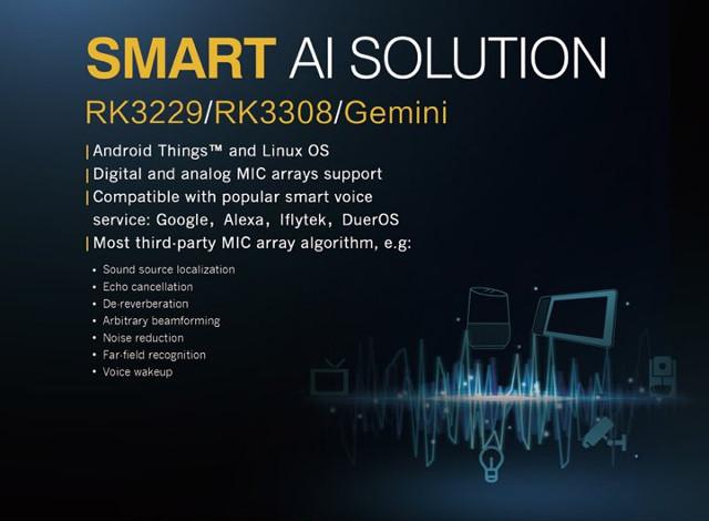 Rockchip Unveils RK3308 & Gemini Cortex-A35 Processors for