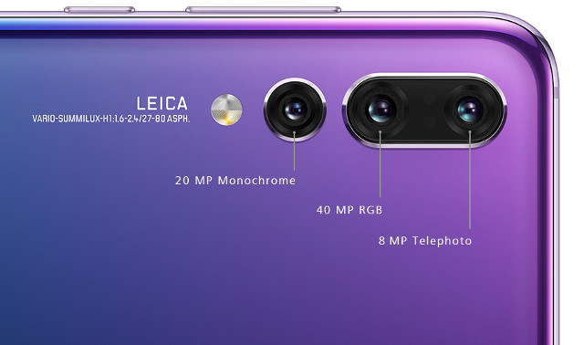 Huawei P20 Pro Smartphone Comes With Three Rear Cameras